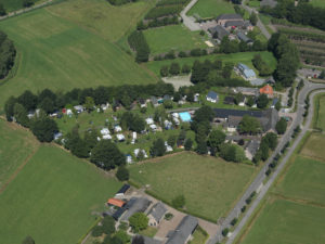 Above view of Camping de Bocht